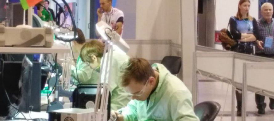 Репортаж с WorldSkills Hi-Tech 2018